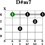 Chords on bass guitar